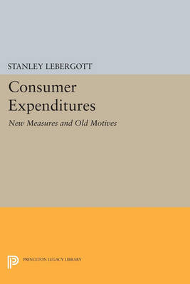 Consumer Expenditures: New Measures and Old Motives - Princeton Legacy Library 316 (Paperback)