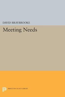 Meeting Needs - Princeton Legacy Library 500 (Paperback)