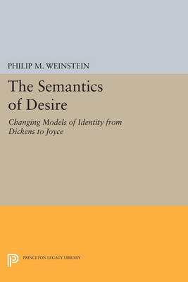 The Semantics of Desire: Changing Models of Identity from Dickens to Joyce - Princeton Legacy Library 3138 (Paperback)
