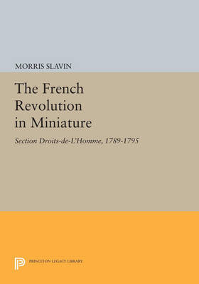 The French Revolution in Miniature: Section Droits-De-L'Homme, 1789-1795 - Princeton Legacy Library 2940 (Paperback)