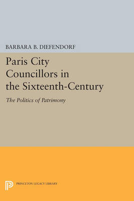 Paris City Councillors in the Sixteenth-Century: The Politics of Patrimony - Princeton Legacy Library (Paperback)