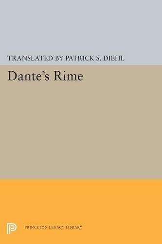 Dante's Rime - Princeton Legacy Library (Paperback)