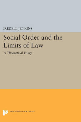 Social Order and the Limits of Law: A Theoretical Essay - Princeton Legacy Library 4743 (Paperback)