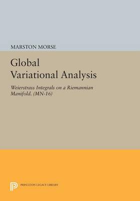 Global Variational Analysis: Weierstrass Integrals on a Riemannian Manifold. (MN-16) - Princeton Legacy Library (Paperback)
