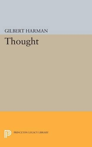 Thought - Princeton Legacy Library (Paperback)