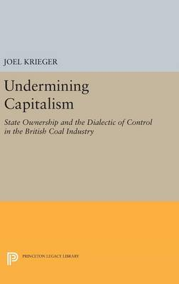 Undermining Capitalism: State Ownership and the Dialectic of Control in the British Coal Industry - Princeton Legacy Library 2765 (Hardback)