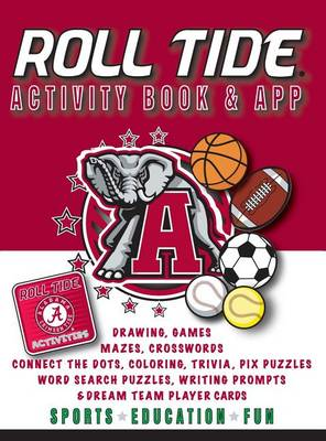 Alabama Crimson Tide Activity Book- Hardback (Hardback)