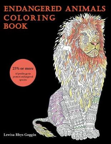 Endangered Animals Coloring Book (Paperback)