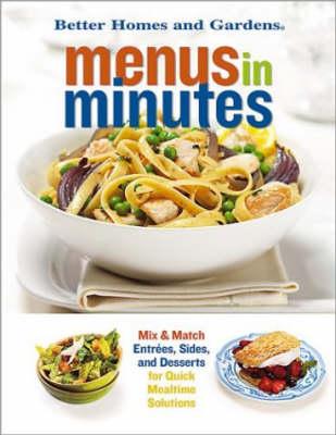 Menus in Minutes (Spiral bound)
