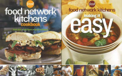 Food Network Kitchens Boxed Set: WITH Food Network Kitchens Cookbook AND Food Network Kitchens Making It Easy