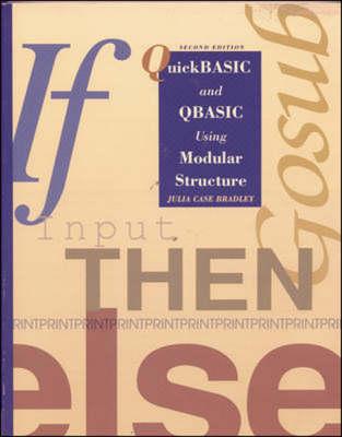 QuickBasic and QBasic Using Modular Structure (Paperback)