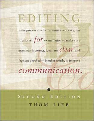 Editing for Clear Communication (Spiral bound)