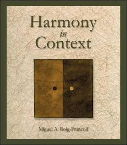 Harmony in Context (Paperback)