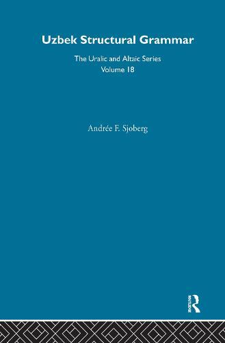 Uzbek Structural Grammar (Hardback)