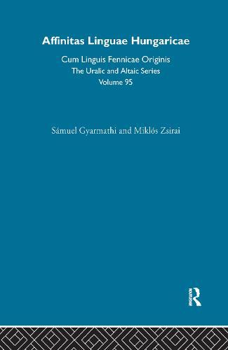 Affinitas Linguae Hungaricae Cum Linguis Fennicae Originis (Hardback)