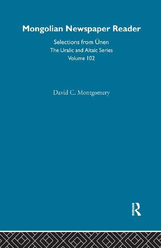 Mongolian Newspaper Reader (Hardback)