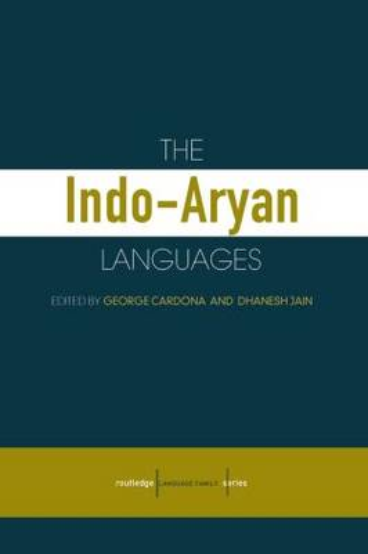 The Indo-Aryan Languages - Routledge Language Family Series (Hardback)