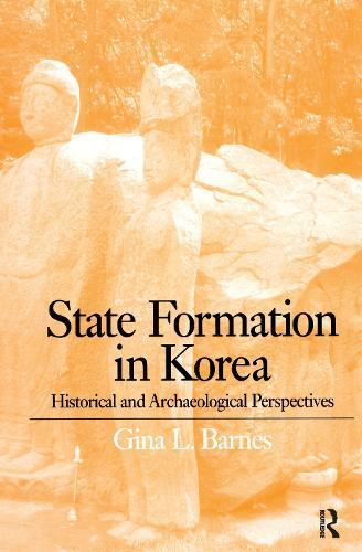 State Formation in Korea: Emerging Elites - Durham East Asia Series (Hardback)