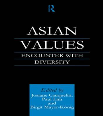 Asian Values: Encounter with Diversity (Paperback)
