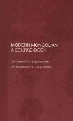 Modern Mongolian: A Course-book (Paperback)
