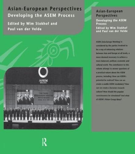 Asian-European Perspectives: Developing the ASEM Process (Hardback)