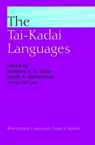 The Tai-Kadai Languages - Routledge Language Family Series (Hardback)