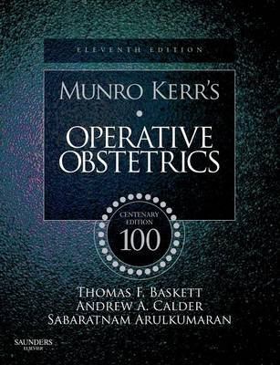 Munro Kerrs Operative Obstetrics (Paperback)