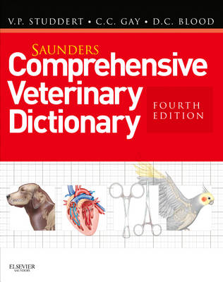 Saunders Comprehensive Veterinary Dictionary (Paperback)