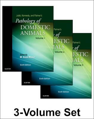 Jubb, Kennedy & Palmer's Pathology of Domestic Animals: 3-Volume Set (Hardback)