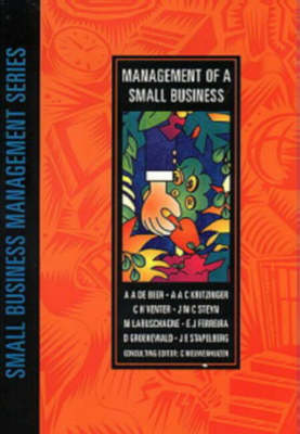 Management of a Small Business - Small Business Management Series (Paperback)