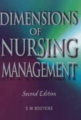 Dimensions of Nursing Management (Paperback)