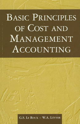Basic Principles of Costs & Management Accounting (Paperback)