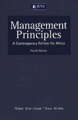 Management Principles: A Contemporary Edition for Africa (Paperback)