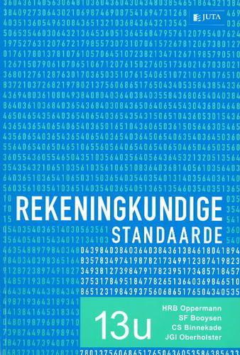 Rekeningkundige Standaarde (Paperback)
