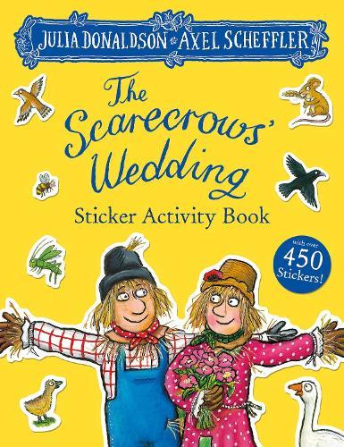 The Scarecrows' Wedding Sticker Book (Paperback)