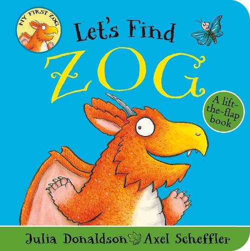 Let's Find Zog (Board book)