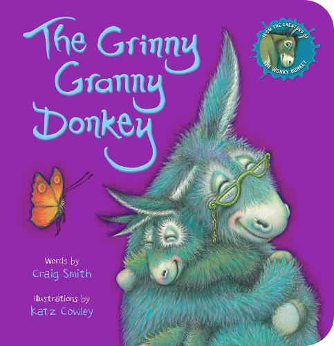 The Grinny Granny Donkey (BB) (Board book)