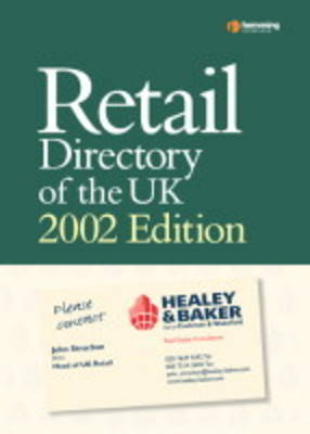 Retail Directory of the UK 2003 - Retail Directory S. (Paperback)