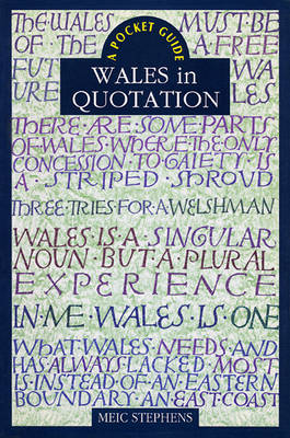 Wales in Quotation (Paperback)