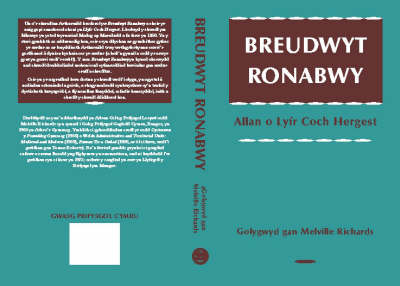 Breudwyt Ronabwy: Allan o'r Llyfr Coch o Hergest (Paperback)