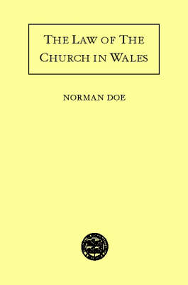 The Law of the Church in Wales (Hardback)