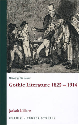 History of the Gothic: Gothic Literature 1825-1914 (Paperback)