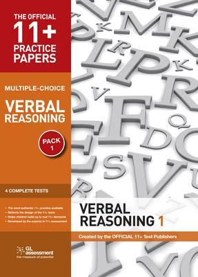 11+ Practice Papers, Verbal Reasoning Pack 1, Multiple Choice: Test 1, Test 2, Test 3, Test 4 - The Official 11+ Practice Papers