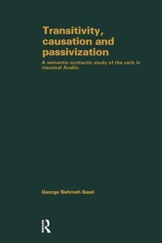 Transivity Causatn & Passivizatn (Hardback)