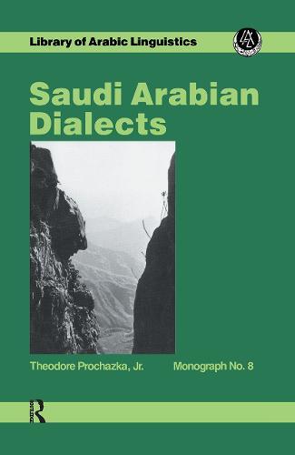 Saudi Arabian Dialects (Hardback)