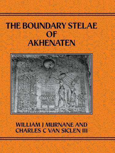 Boundary Stelae Of Akhentaten (Hardback)