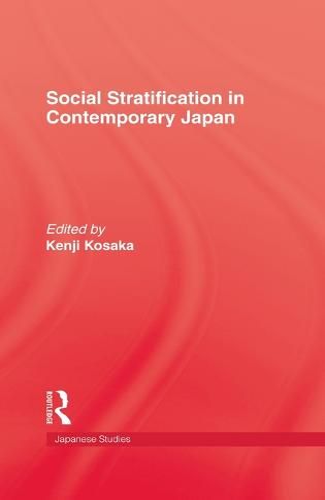 Social Stratification In Japan (Hardback)