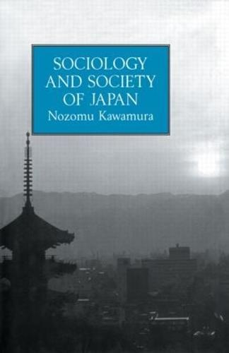 Sociology & Society Of Japan (Hardback)