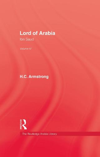 Lord Of Arabia V4 (Hardback)