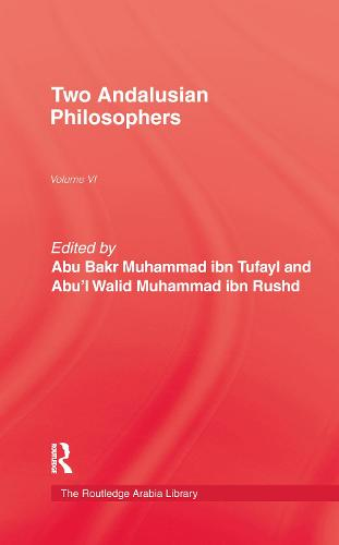 Two Andalusian Philosophers (Hardback)